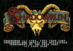 Shadowrun Genesis